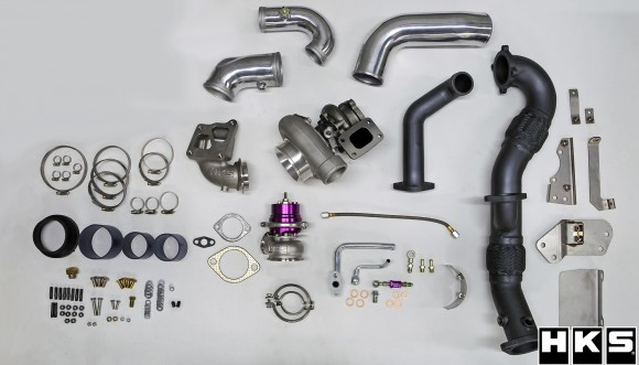 HKS-11003-am002-Mitsubishi Evo X GT3240 Turbo Kit