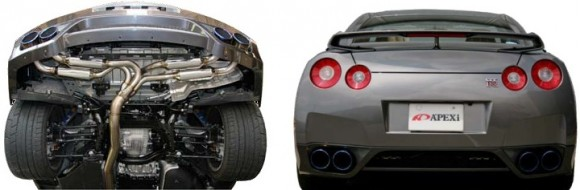 113BN031_DualView-APEXi Exhaust - RS Evolution Muffler