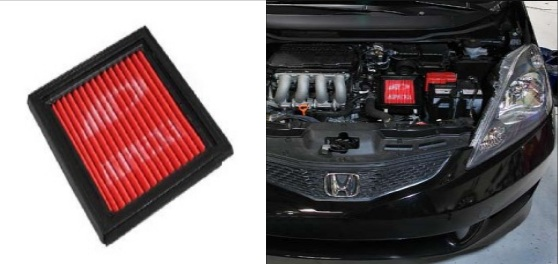 APEXi Power Intake Panel Filter OR Ku0026N Air Filter?   Unofficial Honda FIT  Forums